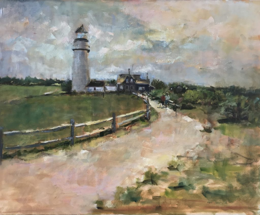 Highland Light in Spring 24x30