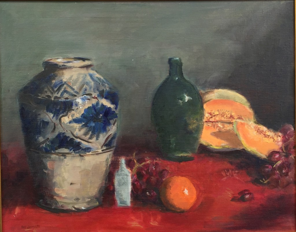 Still Life With Cantelope